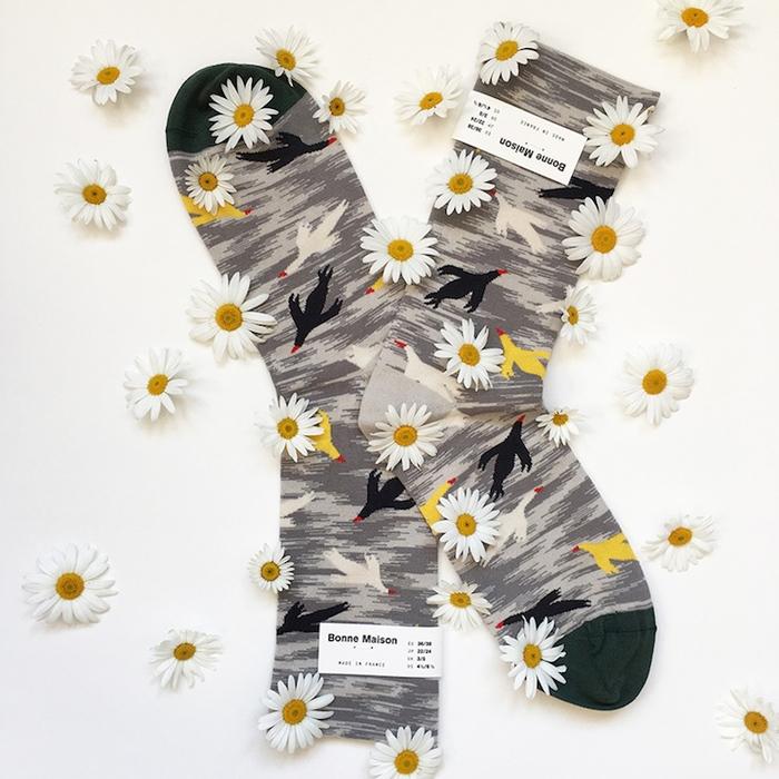 (複製)Bonne Maison 頑趣樂高 純棉織襪