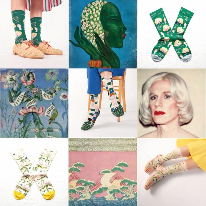 Bonne Maison|綠野仙蹤 純棉織襪