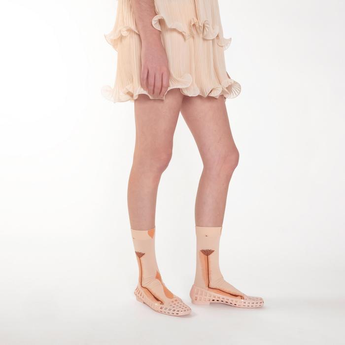 Bonne Maison 床單下的我們 純棉織襪