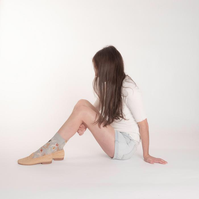 (複製)Bonne Maison|床單下的我們 純棉織襪