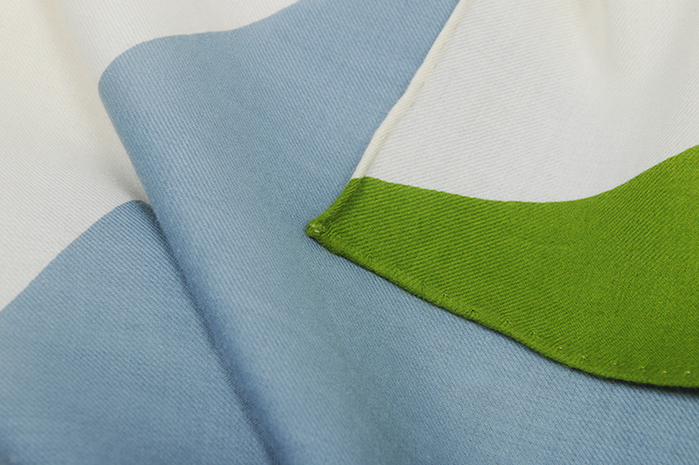 (複製)MOISMONT|N°332-EVERGREEN 純棉方巾