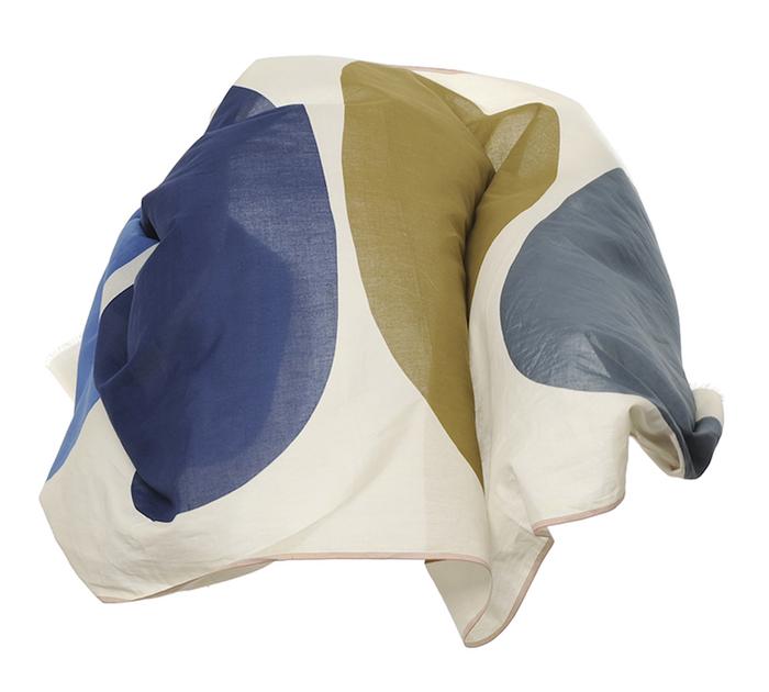 MOISMONT|N°342-JAPAN BLUE 純棉圍巾