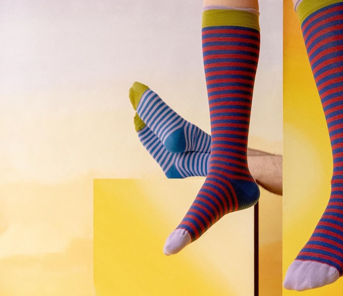 Bonne Maison|綠寶石之夢 純棉織襪