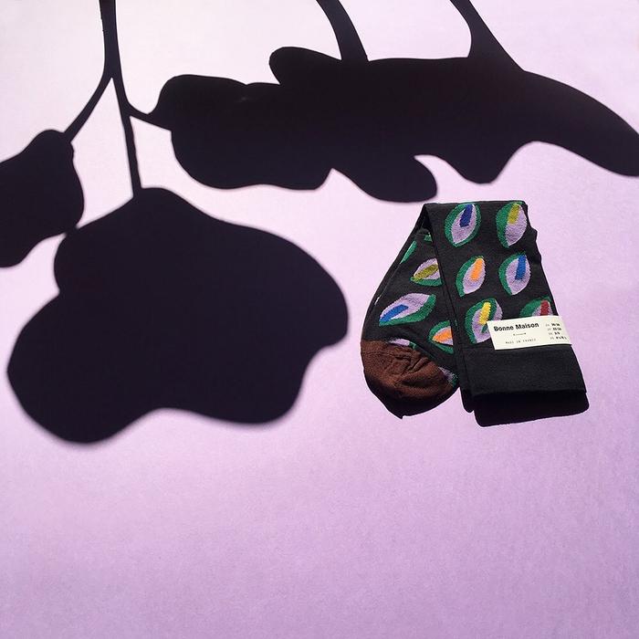 (複製)Bonne Maison|鈷藍花瓶 純棉織襪