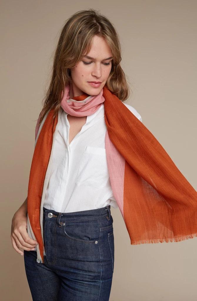MOISMONT|N°368-FIREFLY 羊毛圍巾