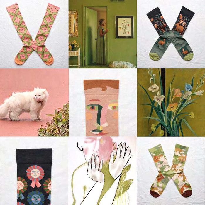 (複製)Bonne Maison|棕櫚樹 純棉踝襪
