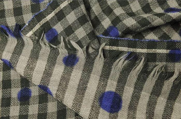 (複製)MOISMONT KAKI#300-100%羊毛圍巾100x200