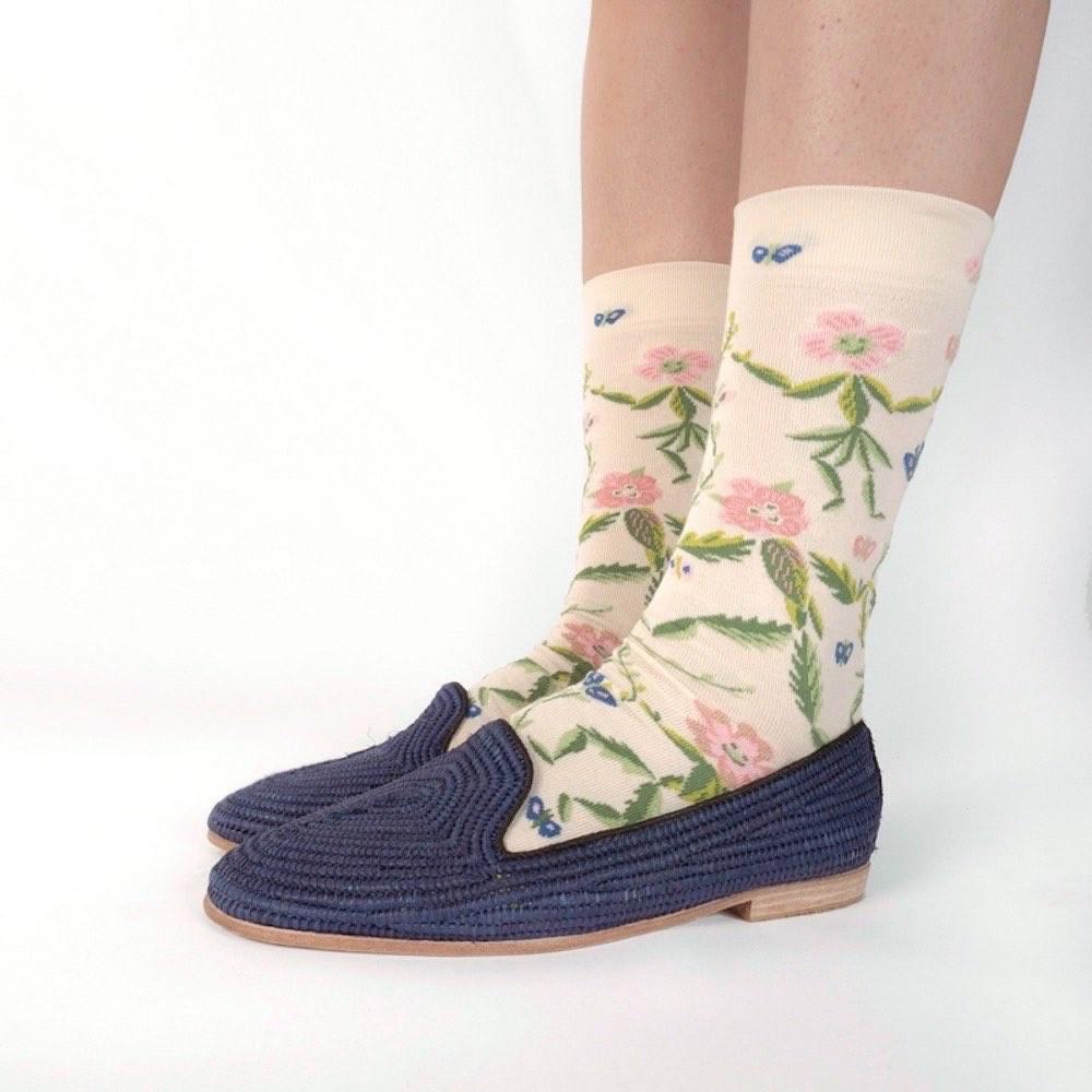 Bonne Maison 綠野仙蹤 純棉織襪
