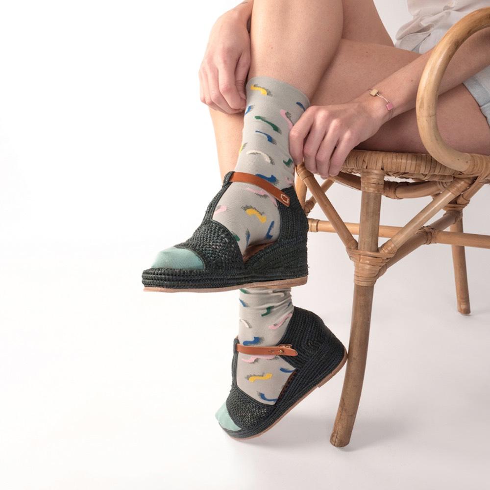 Bonne Maison|雷根糖 純棉織襪