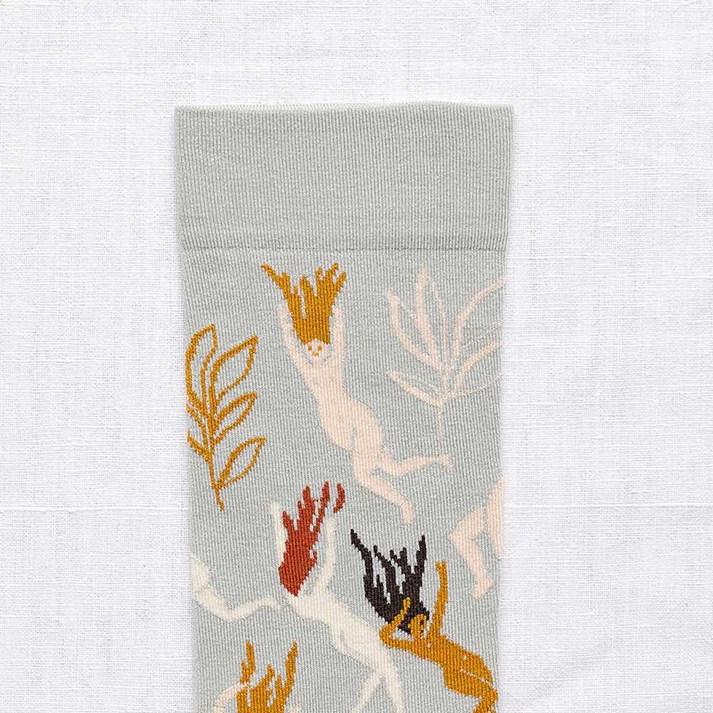 Bonne Maison|水下之舞 純棉織襪