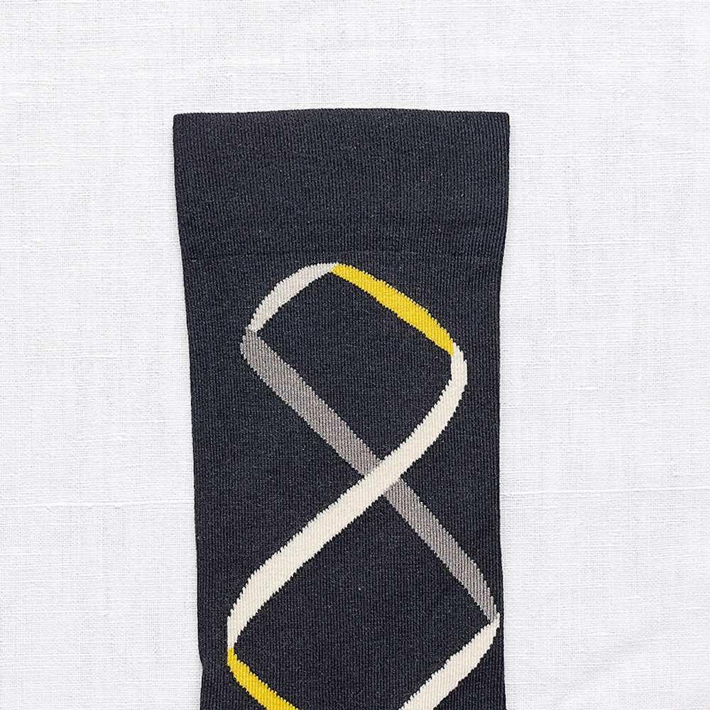 Bonne Maison|彩帶舞 純棉織襪