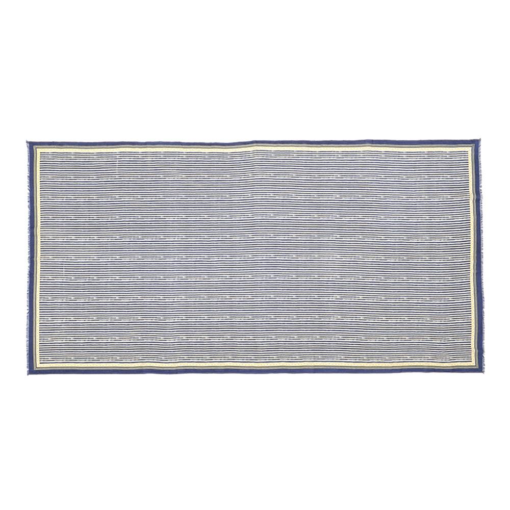 MOISMONT N°329-INK BLUE 純棉圍巾