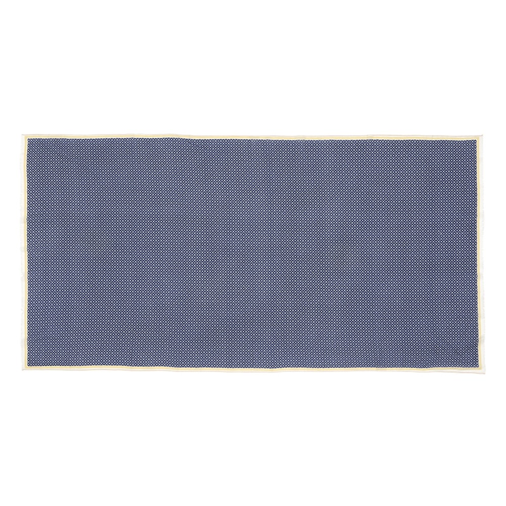 MOISMONT N°330-INK BLUE 純棉圍巾