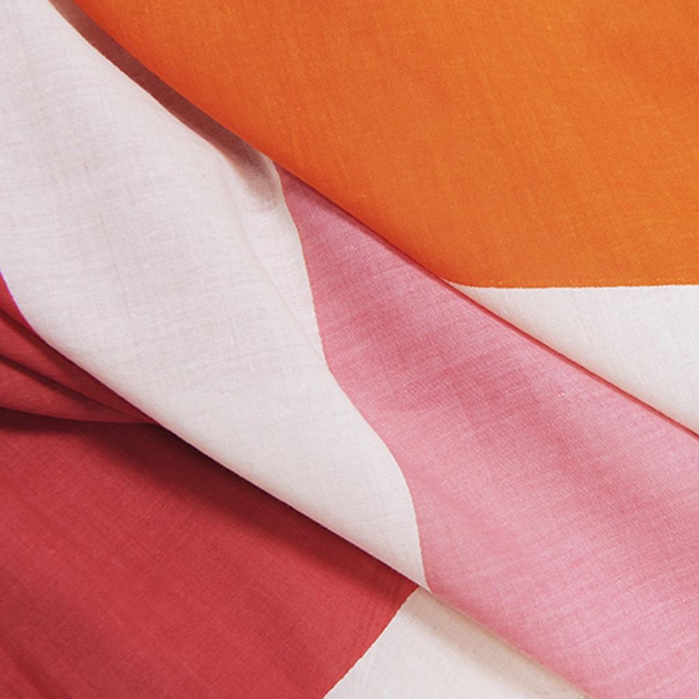 MOISMONT N°342-FRANCE ROSE 純棉圍巾