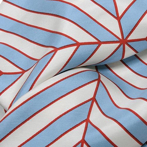 MOISMONT|N°336-ARTIC BLUE 真絲方巾