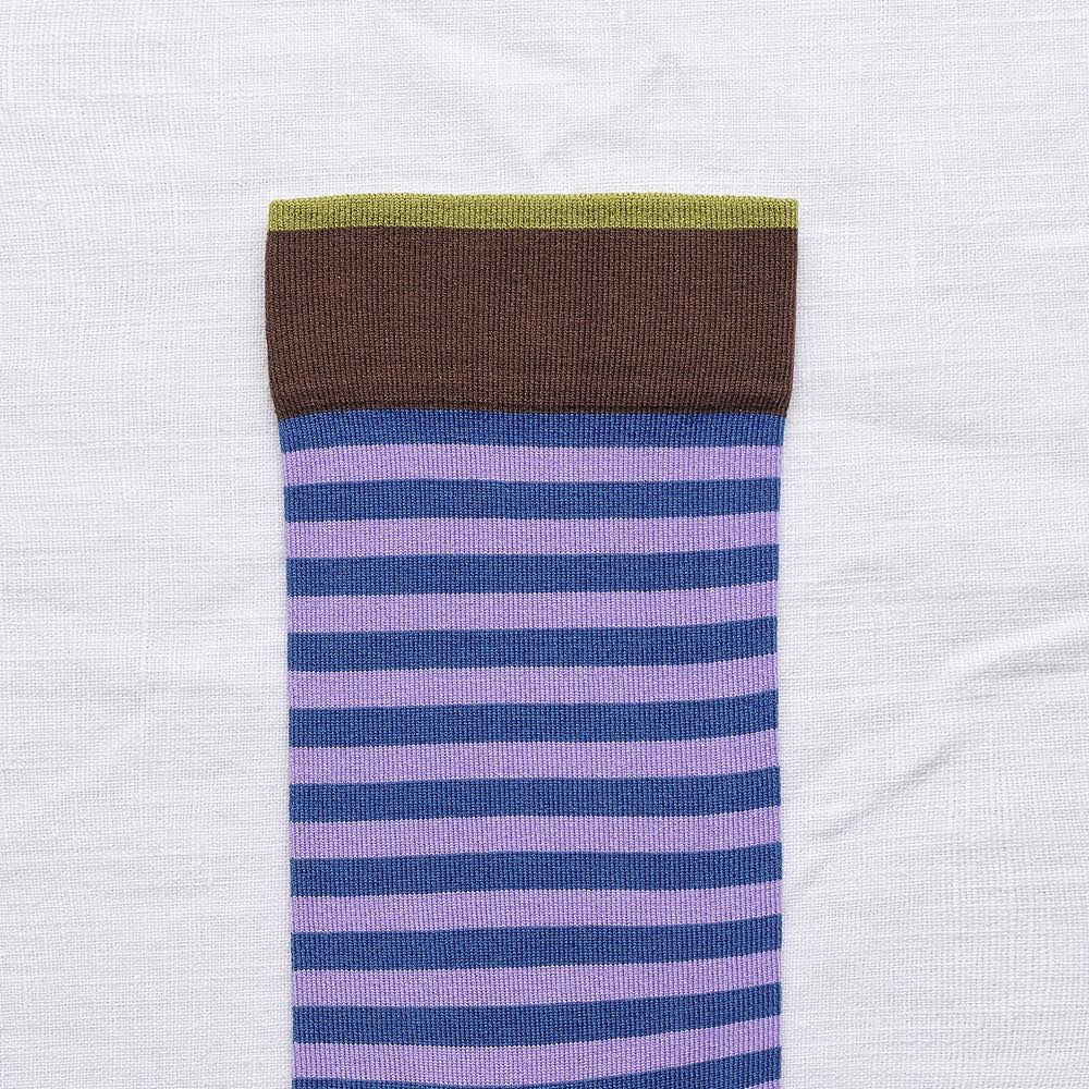 Bonne Maison|鈷藍花瓶 純棉織襪