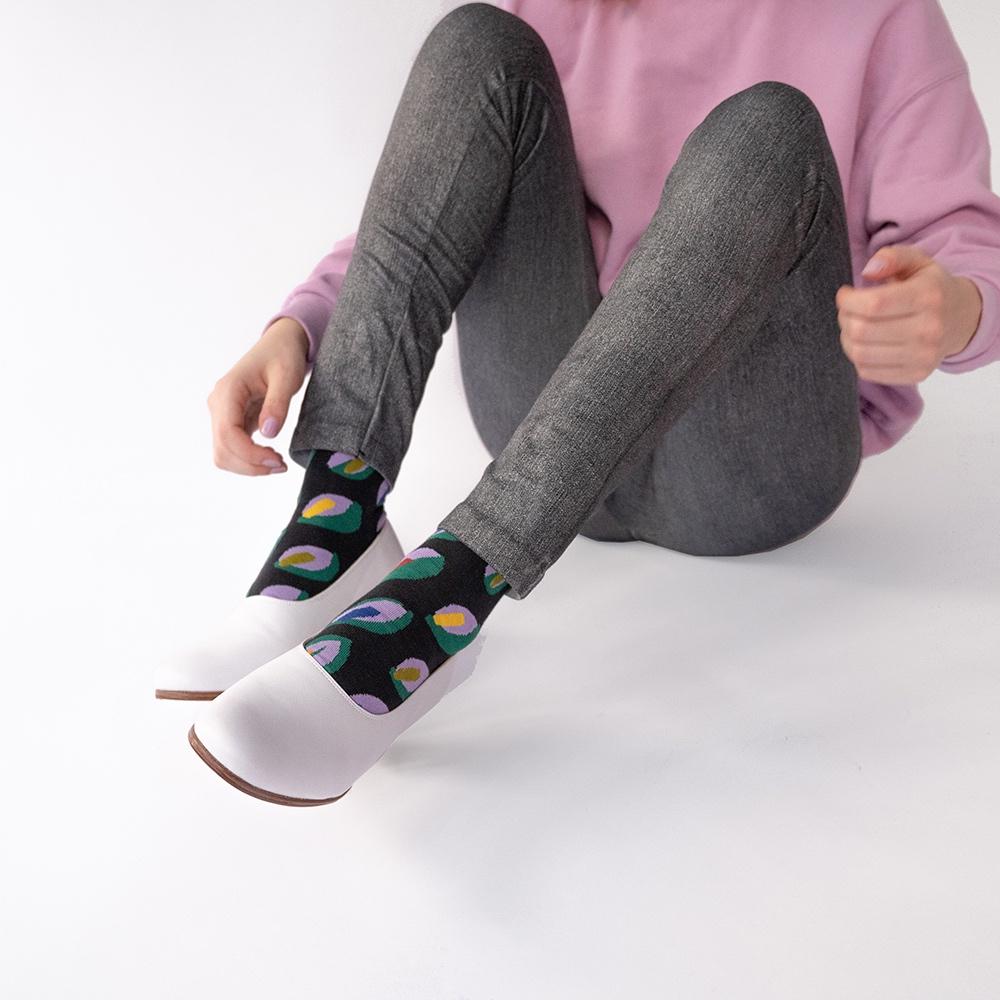 Bonne Maison|葉光曲 純棉織襪