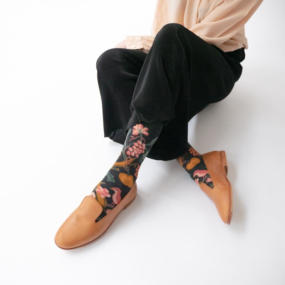 Bonne Maison|松鼠果果 純棉織襪