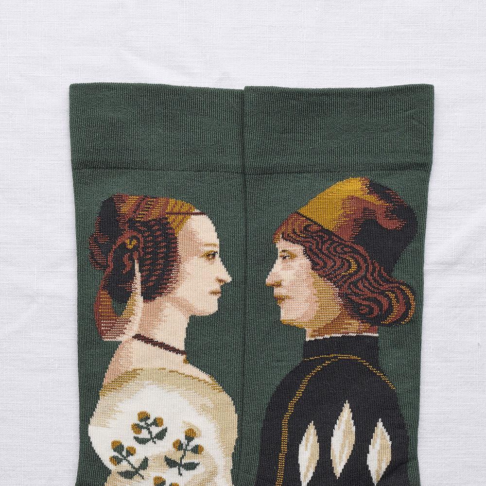 Bonne Maison|伯爵夫人 純棉織襪