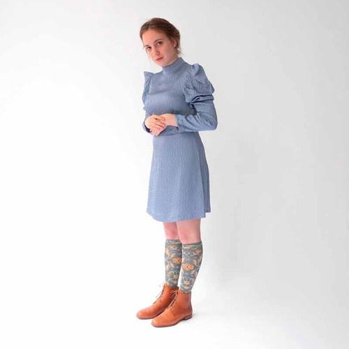 Bonne Maison|雪松花毯 純棉織襪