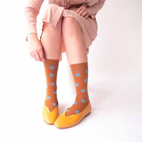 Bonne Maison|焦糖波卡 純棉織襪