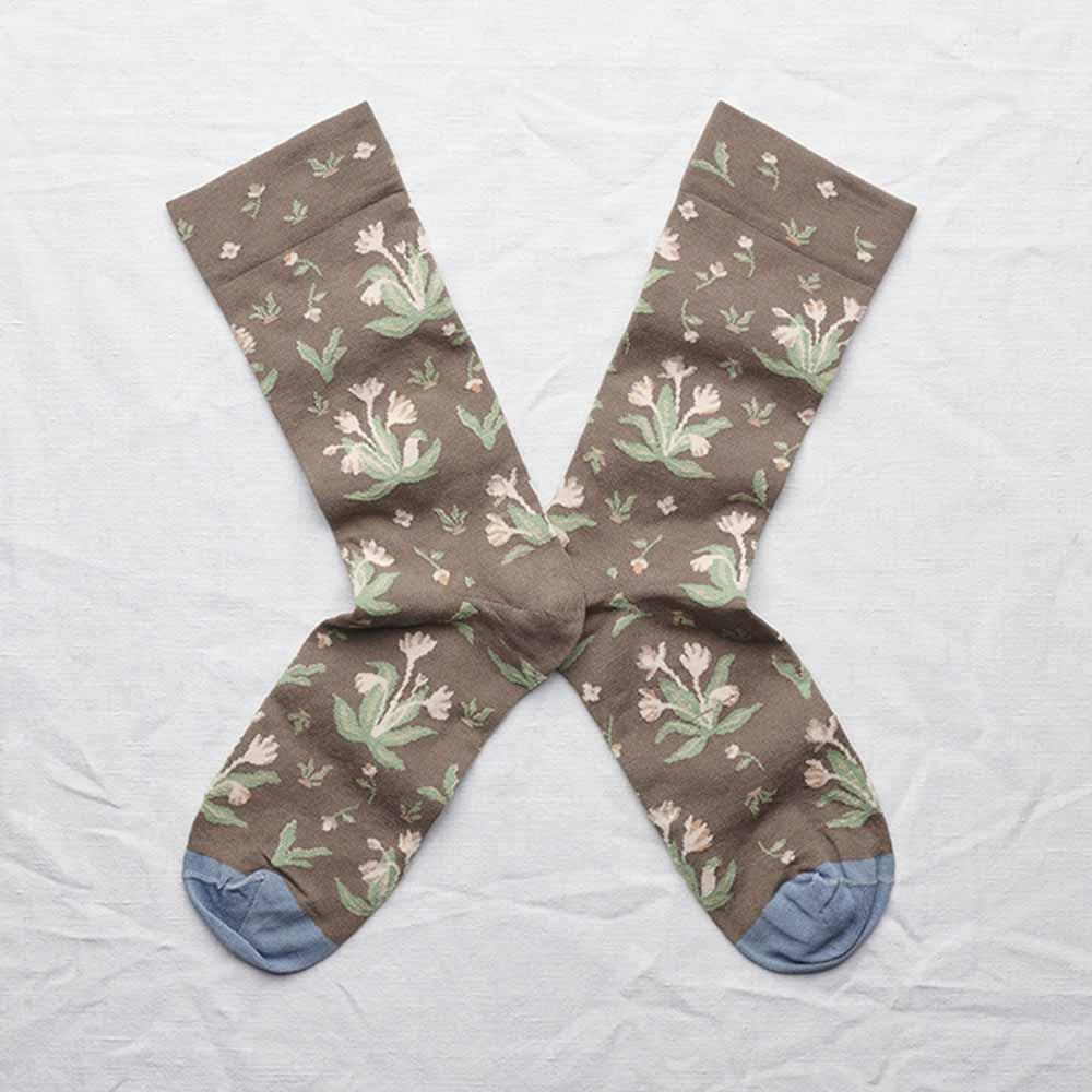 Bonne Maison 花束 純棉織襪