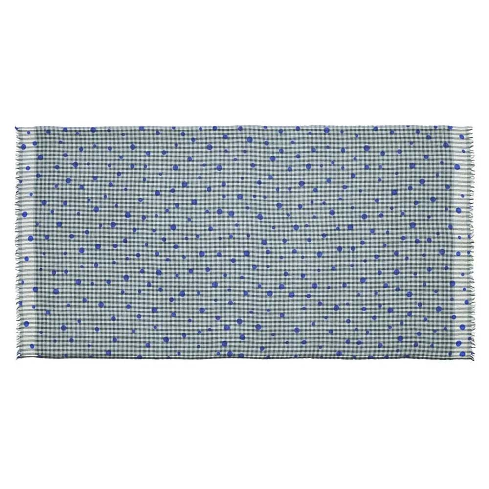 MOISMONT TEAL BLUE#305-100%羊毛圍巾100x200