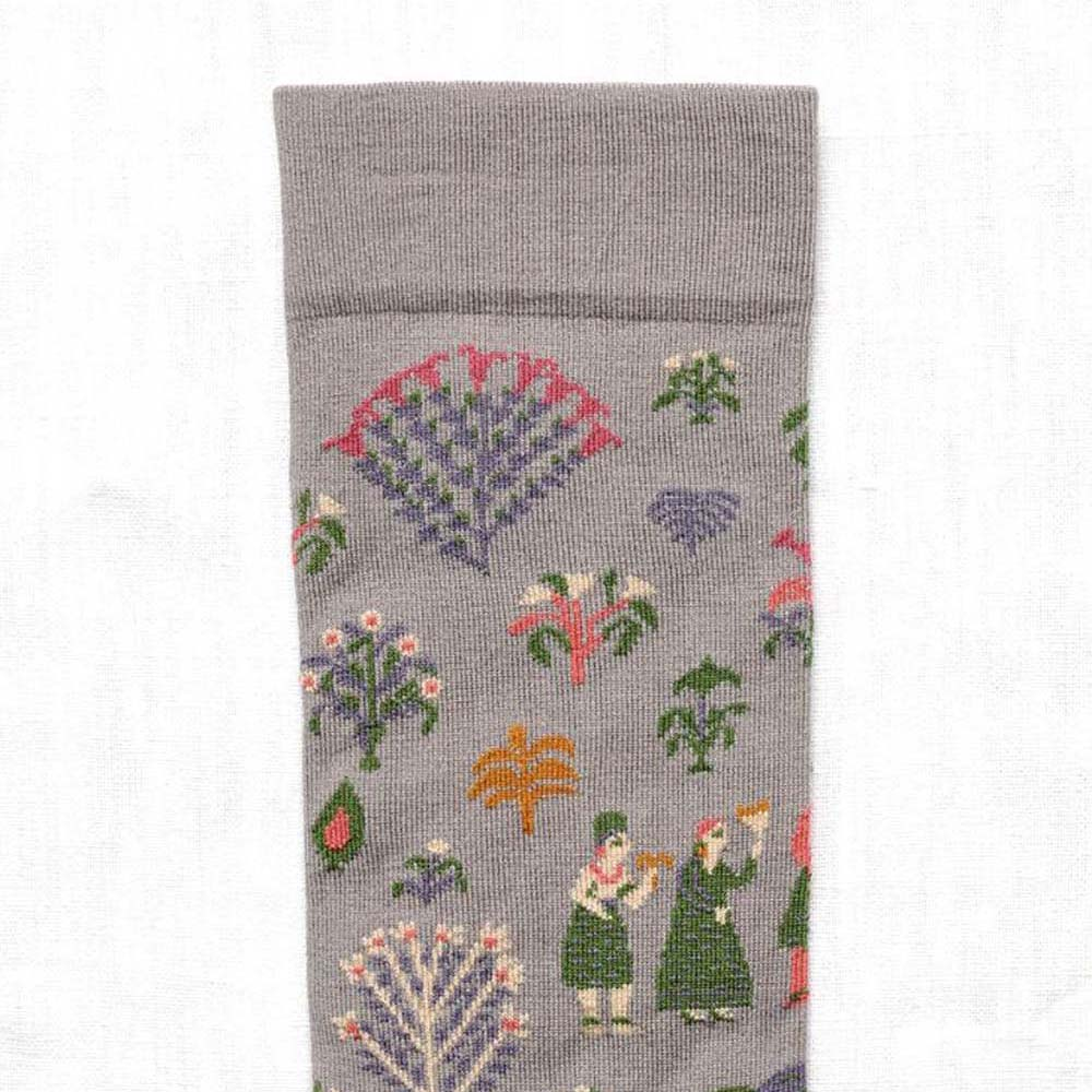 Bonne Maison|蘇丹花園 純棉織襪
