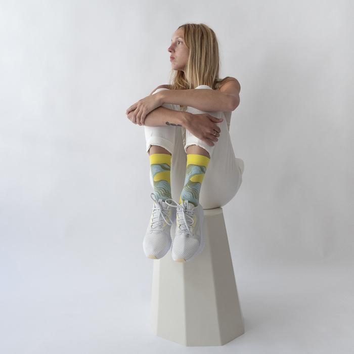 (複製)Bonne Maison|深海悠遊 純棉織襪