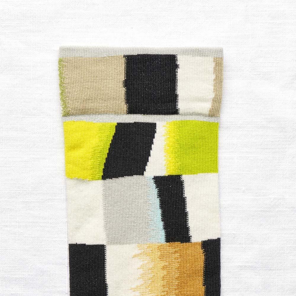 Bonne Maison|西洋棋盤 純棉織襪