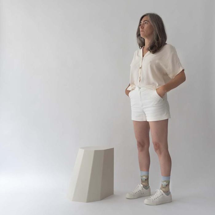 (複製)Bonne Maison|戀人 純棉織襪