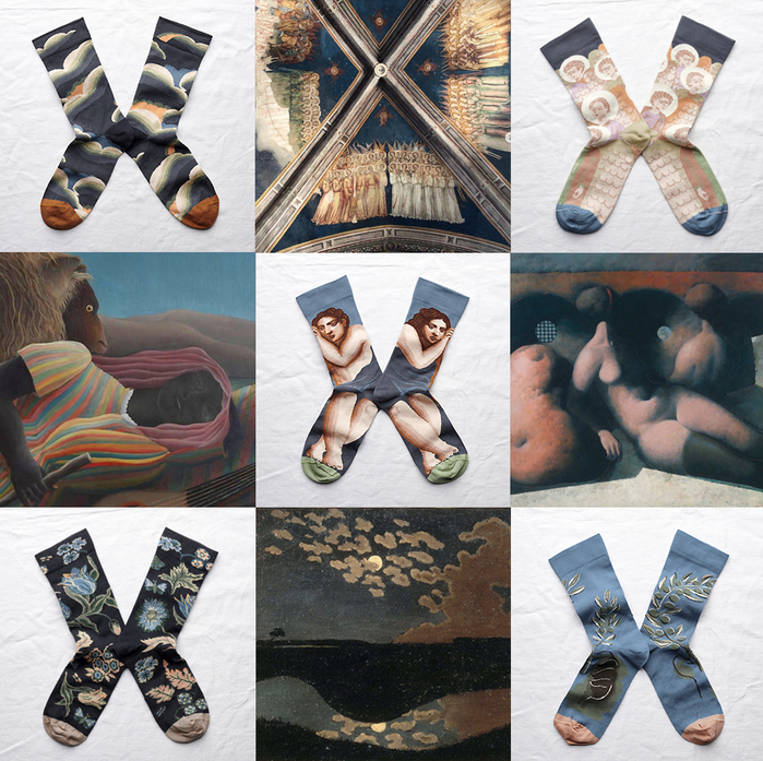 Bonne Maison|夜曲 純棉織襪