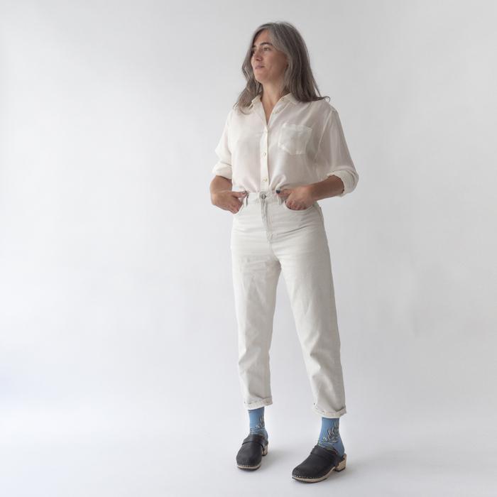 (複製)Bonne Maison|私語天使 純棉織襪