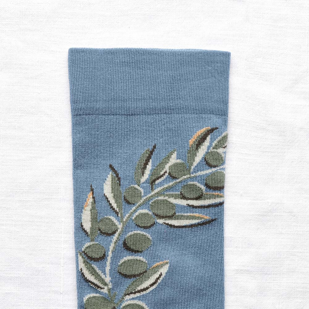 Bonne Maison|橄欖樹 純棉織襪