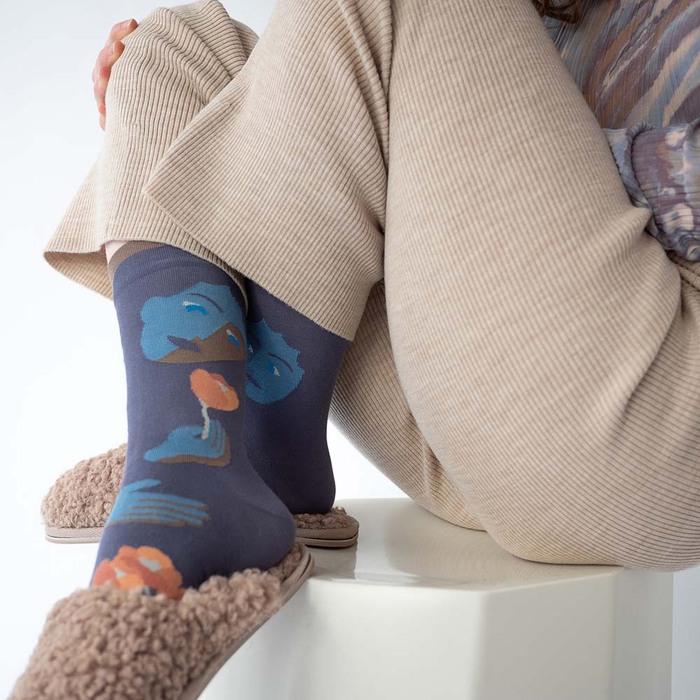 (複製)Bonne Maison 小熊森林 純棉織襪