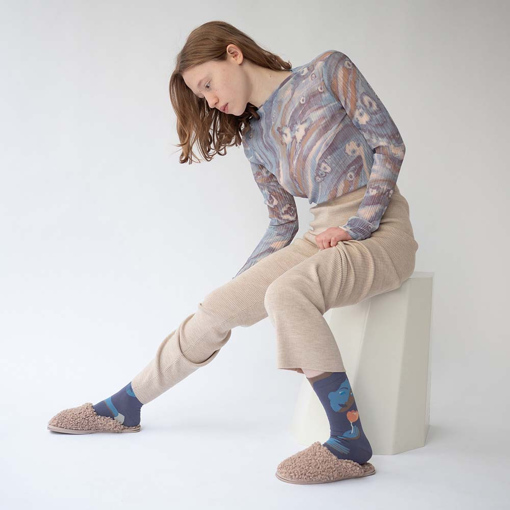 Bonne Maison 護花使者 純棉織襪