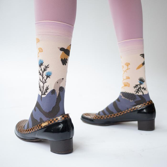 (複製)Bonne Maison|金色午后 純棉織襪