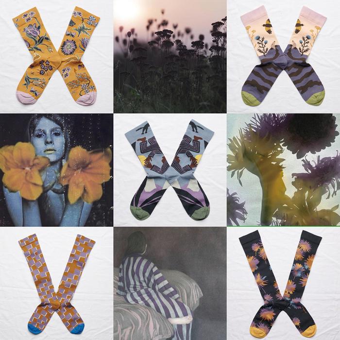 (複製)Bonne Maison 天使之翼 純棉織襪