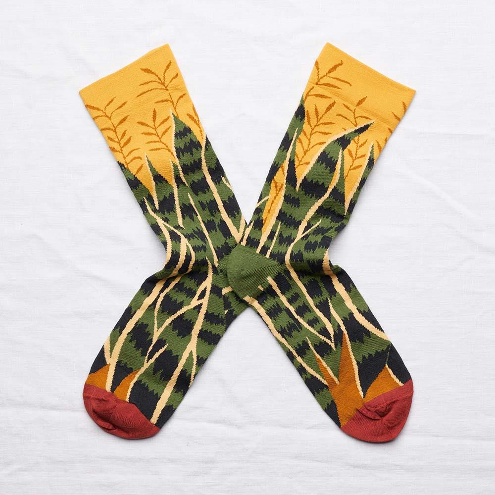 Bonne Maison 溫室時光 純棉織襪