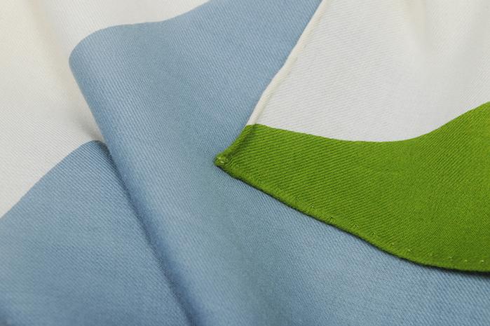 MOISMONT|N°332-SUNLIGHT 純棉方巾
