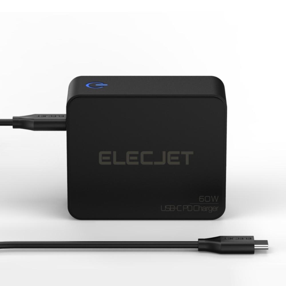 ELECJET|60W USB-C 供電轉接器