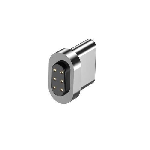 ELECJET|USB C to C 87W 快充 6PIN 磁吸快充電源線 (多磁吸頭優惠組) - 白