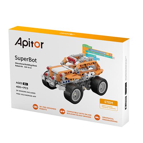 Apitor│18合1樂學程式積木(2入組)