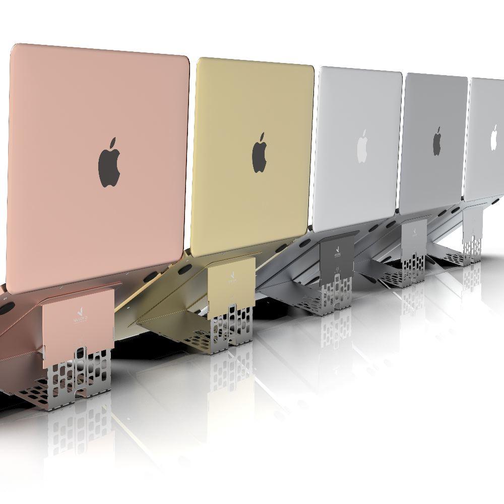 Majextand|世界最輕薄護頸筆電架(一組)