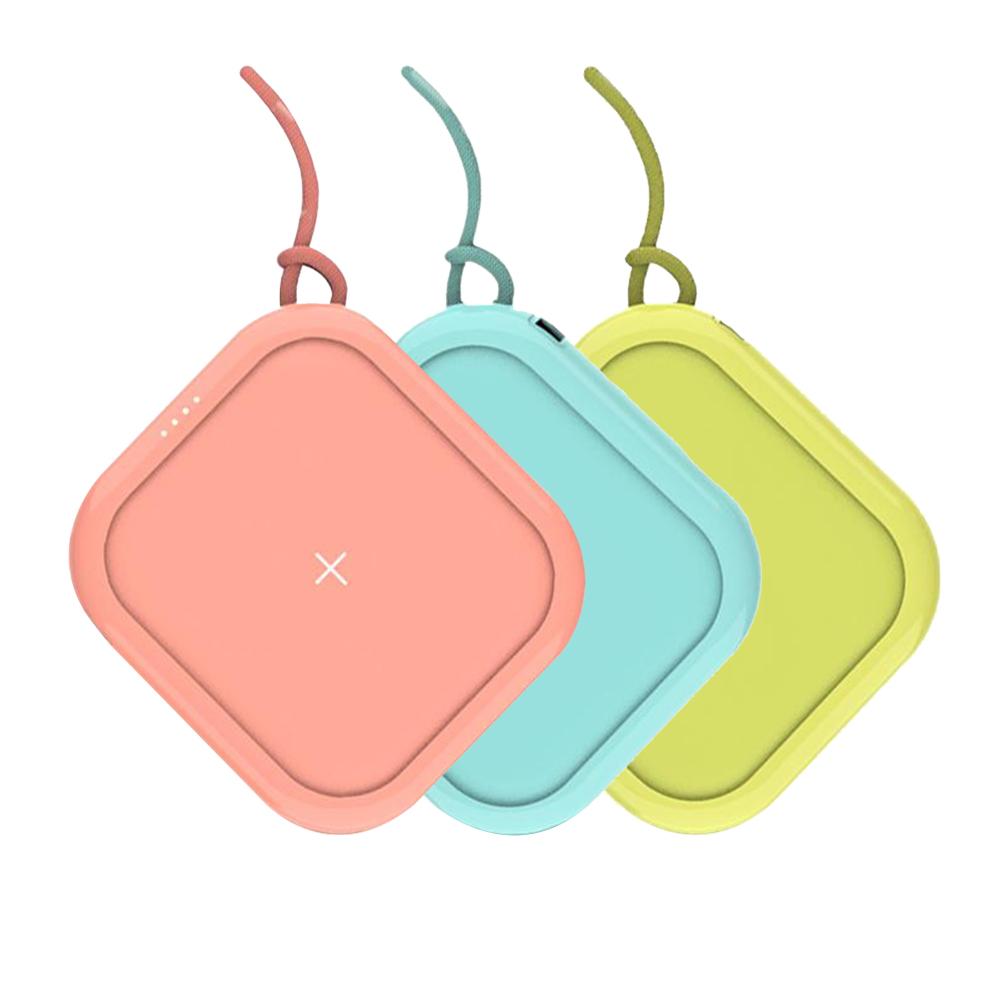 MiPOW|Power Cube  10000mAh 無線充電行動電源-馬卡龍色系