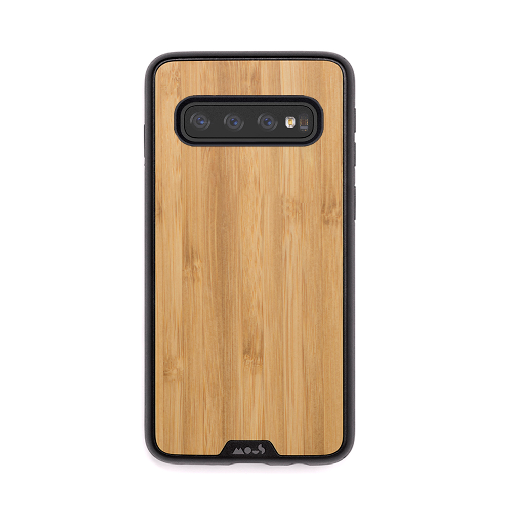Mous iPhone Limitless 2.0 天然材質防摔保護殼-竹紋(Samsung S10+)