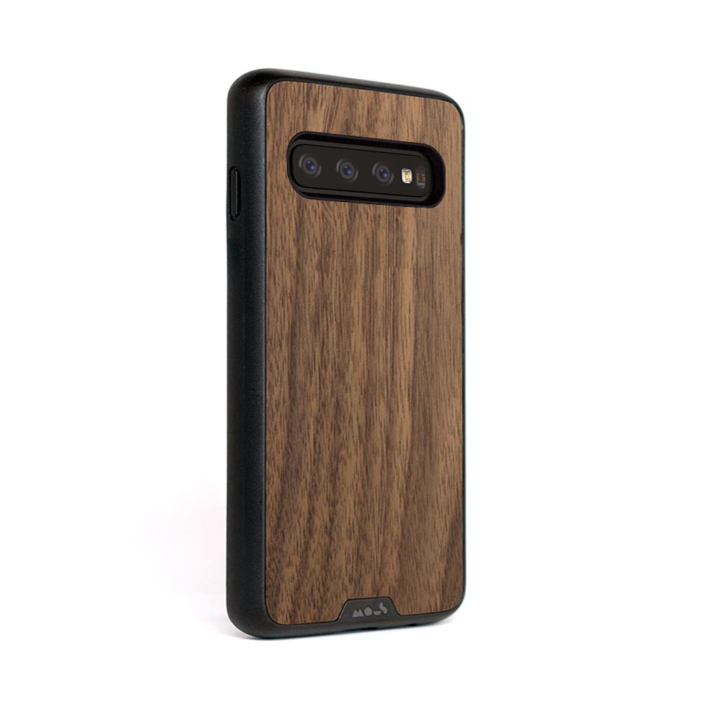 Mous iPhone Limitless 2.0 天然材質防摔保護殼-核桃木(Samsung S10+)