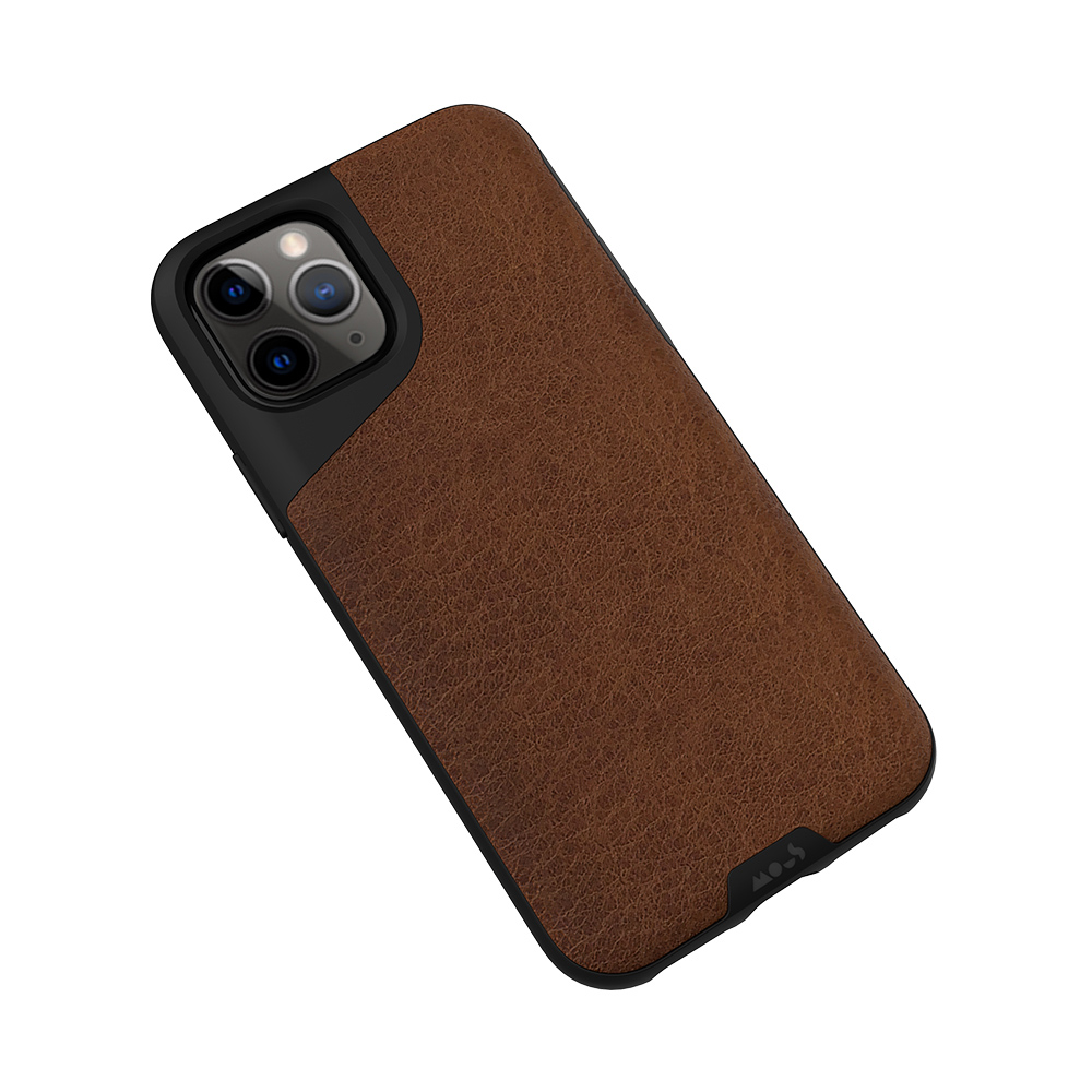 Mous|iPhone Contour 天然材質防摔保護殼-摩卡皮革 (iPhone 11 Pro /iPhone 11 /iPhone 11 Pro Max)