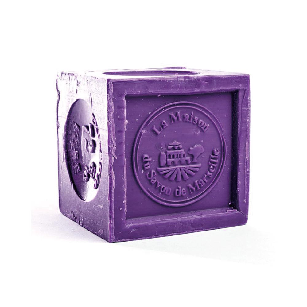 法國馬賽皂之家|路易十四欽定 法國正統經典馬賽皂-薰衣草 300g