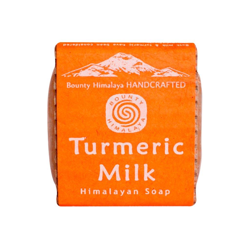 Bountyhimalaya 喜馬拉雅之寶|尼泊爾手工精油皂- 薑黃牛奶